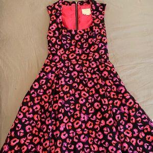Kate Spade Pink Cheetah Print Dress